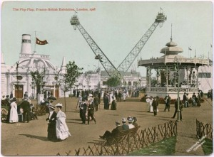 Postcard of the Flip-Flap ride