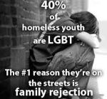 Homeless youth 40 percent pic