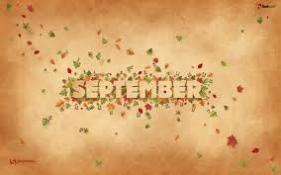 September and Fall