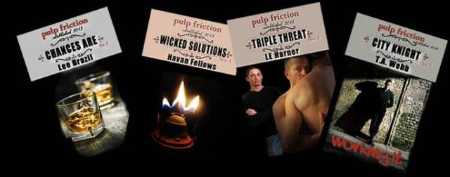 Pulp Friction 4 covers
