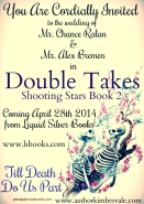 Double Takes Wedding Invite