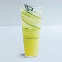 Cucumber Lemonade Mocktail. A111206 Food & Wine March 2012