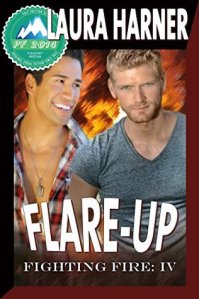 Flare-Up cover by Laura Harner