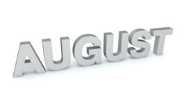 August 3d clip art
