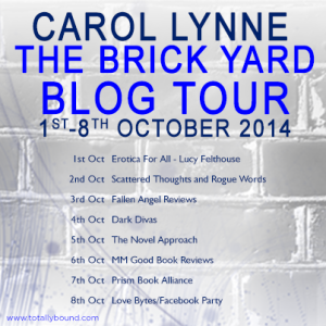 The Brick Yard_Carol Lynne_Blog Tour_Blog dates_final
