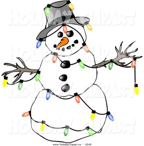 free-snowman-clipart-holiday-clip-art-of-a-festive-winter-snowman-decorated-with-colorful-christmas-tree-lights-on-white-by-djart-6340
