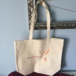 A Brick & Mortar tote bag  courtesyof Ty and Zane