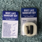 Bootlace Handcuff Key