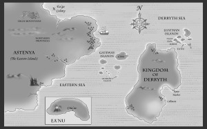 Merman of Ea map