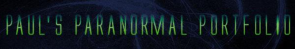Pauls Paranormal Portfolio Header