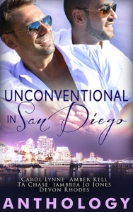 Unconventional In San Diego Anthology cover