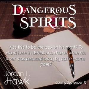 Dangerous Spirits Coming Sept 15