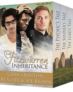 Trilogy Cover for The Fitzwarren Inheritance