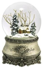 Winter Oranges_Snow Globe