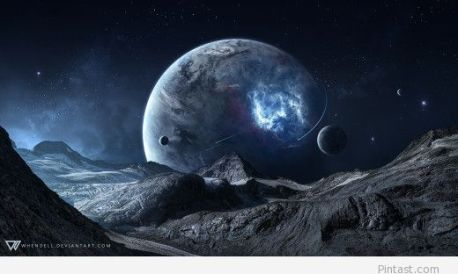 Blue-Space-Science-Fiction-Wallpaper-in-HD-520x312