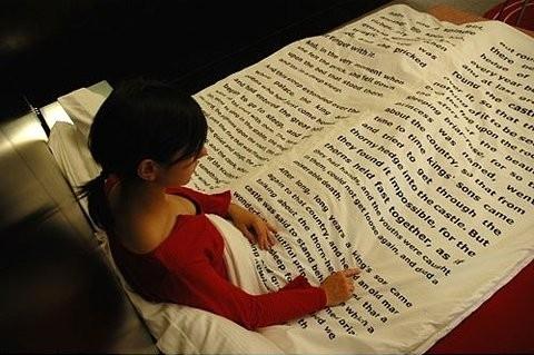 book-blanket